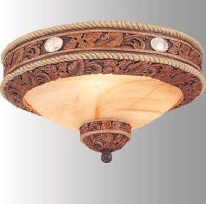 Southwestern and rustic ceiling lights rustic western and lodge style ceiling lights aloadofball Gallery